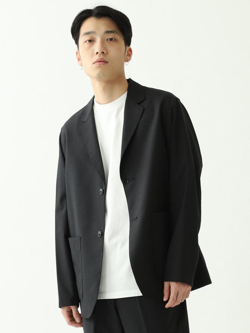 BEAMS MEN BEAMS / ウール シルク 2Bジャケット ビームス メン シャツ/ブラウス 長袖シャツ グレー【送料無料】