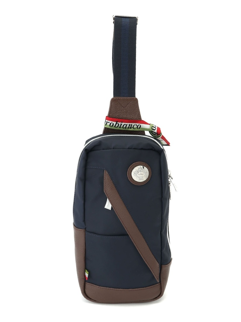 Orobianco (M)TRAVERSO S-C ボディバッグ カジュアル 92164 オロビアンコ バッグ ショルダーバッグ ネイビー ブラック レッド【送料無料】