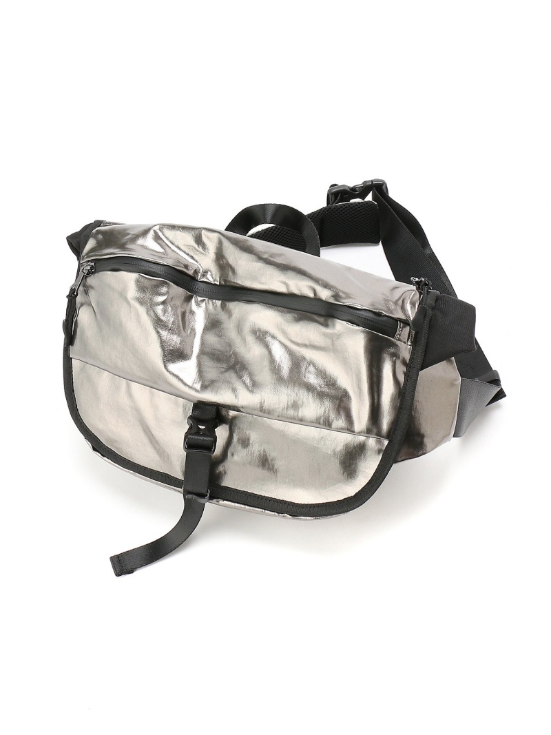 Otias (M)オティアス Otias/ポリウレタンコーティング横型ボディバッグ アンビリオン バッグ【送料無料】