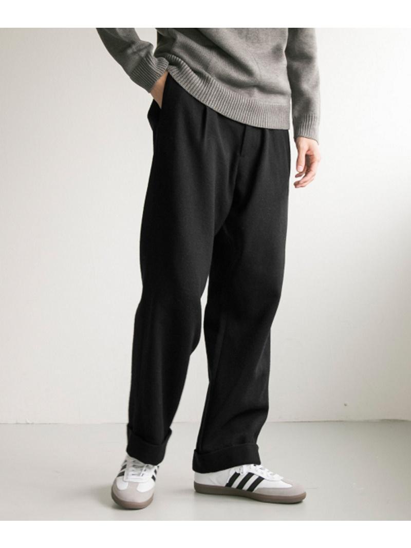 URBAN RESEARCH Wool tuck wide pants アーバンリサーチ パンツ/ジーンズ【送料無料】