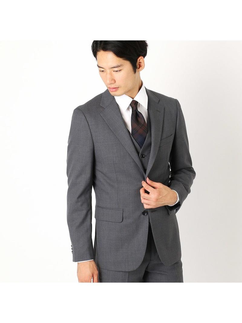 COMME CA ISM 《セットアップ》ウールギャバ スーツジャケット コムサイズム ビジネス/フォーマル【送料無料】