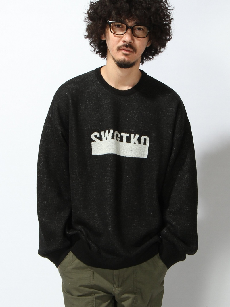 【SALE/40%OFF】SWAGGER SWGTKO KNIT SWEATER スワッガー ニット【RBA_S】【RBA_E】【送料無料】