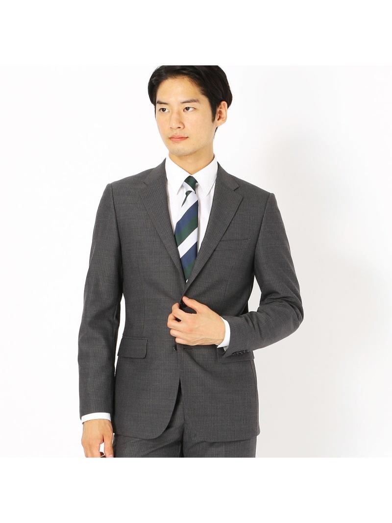 COMME CA ISM 《セットアップ》ブライトステッチストライプ スーツジャケット コムサイズム ビジネス/フォーマル【送料無料】