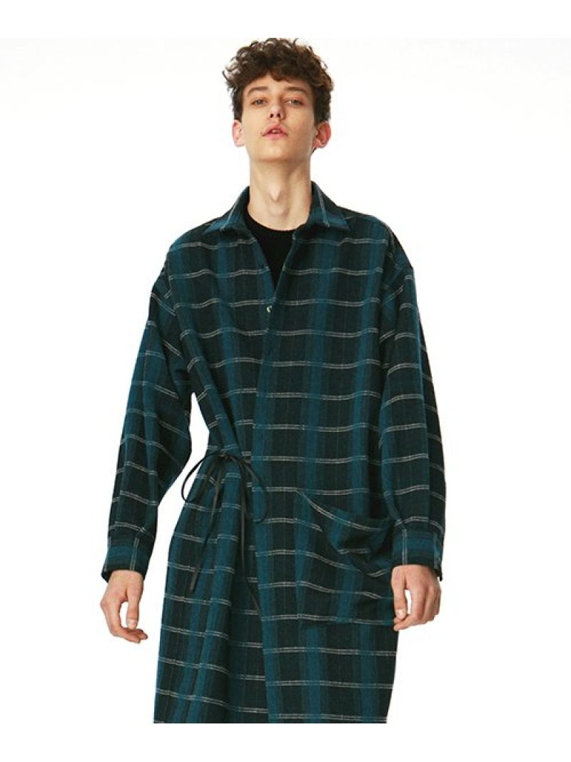 【SALE/40%OFF】SHAREEF WOOL CHECK LONG LONG SHIRTS シャリーフ SHIRTS シャツ/ブラウス CHECK【RBA_S】【RBA_E】【送料無料】, BESTLIFE:6df49043 --- officewill.xsrv.jp