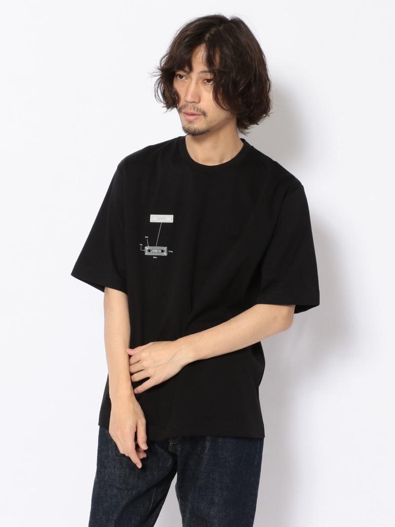 B'2nd LIBERUM(リベルム)/シリコーンワッペンTシャツ ビーセカンド カットソー Tシャツ ブラック ホワイト【送料無料】