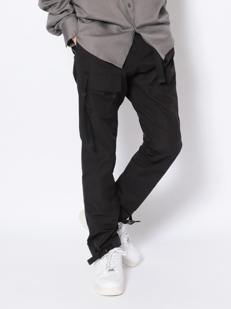 B'2nd LIBERUM(リベルム)テクニカルポケットパンツ ビーセカンド パンツ/ジーンズ フルレングス ブラック【送料無料】