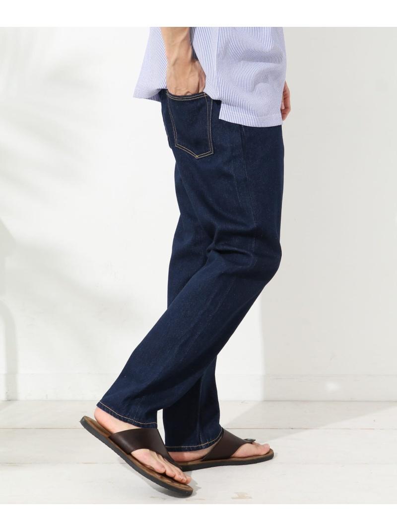 Sonny Label WHEIRYELLOWTAGStraightJeans サニーレーベル パンツ/ジーンズ ジーンズその他 ネイビー【送料無料】