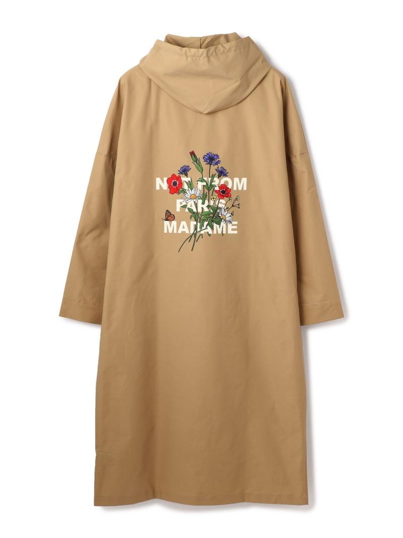 GARDEN TOKYO DROLE DE MONSIEUR /ドロール ド ムッシュ/NFPM Hood Coat ガーデン コート/ジャケット コート/ジャケットその他 ベージュ ブラック【送料無料】