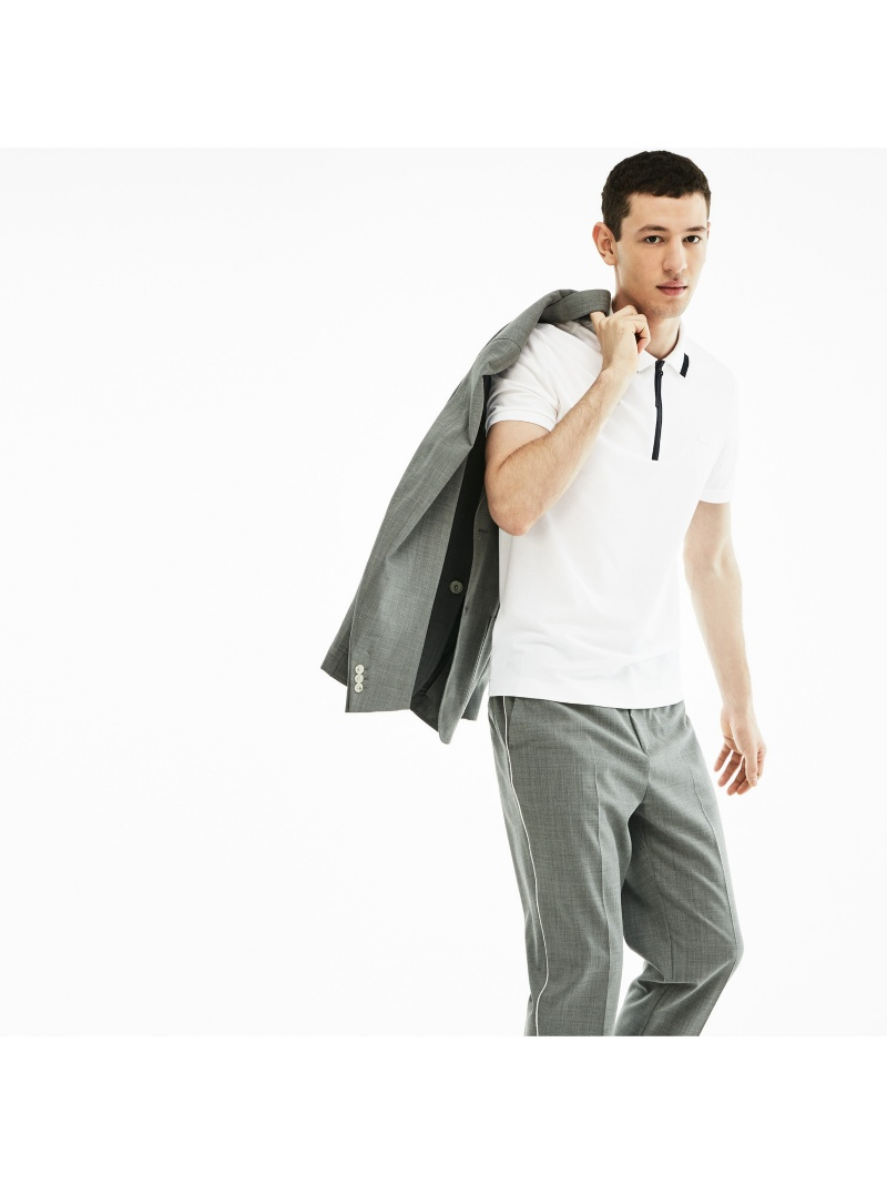 【SALE/30%OFF】LACOSTE MOTION止水ジップポロ ラコステ ラコステ カットソー【RBA_S】【RBA_E】【送料無料】, 玉東町:570ddbe3 --- officewill.xsrv.jp