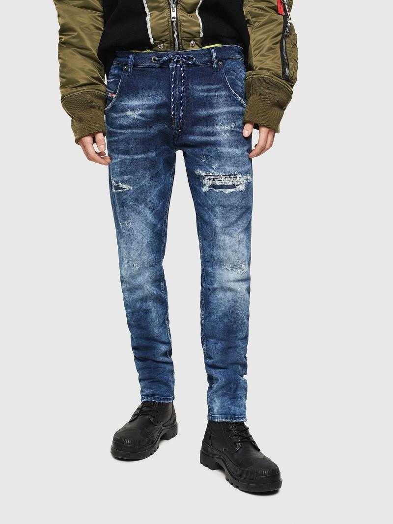 DIESEL Krooley JoggJeans 0097N ディーゼル パンツ/ジーンズ フルレングス ブルー【送料無料】