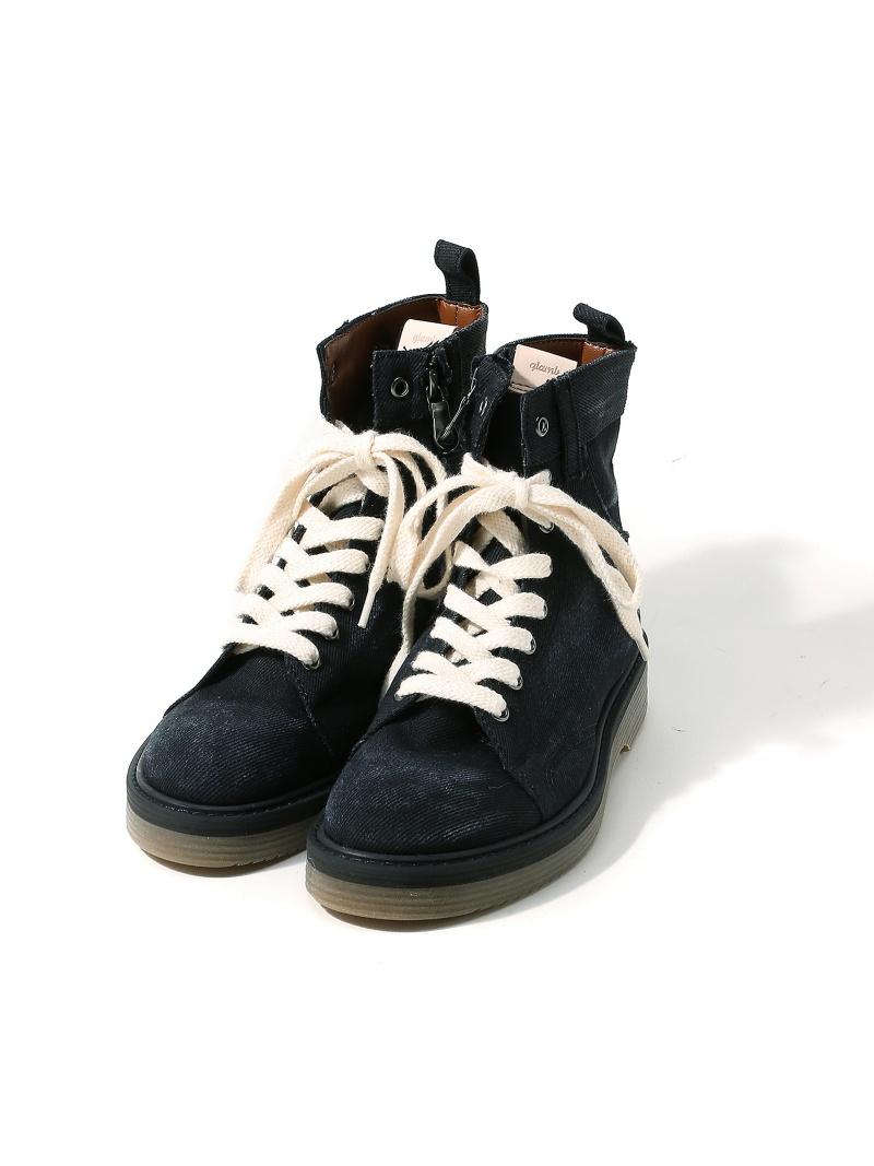 glamb Slinky denim boots グラム シューズ【送料無料】