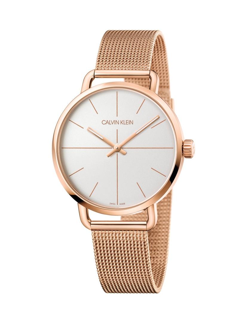 CALVIN KLEIN WATCHES+JEWELRY カルバンクライン 腕時計 Even Ext.(イーブン エクステンション) 2針 シルバー×ゴールド カルバンクラインウォッチアンドジュエリー ファッショングッズ 腕時計 ゴ【送料無料】