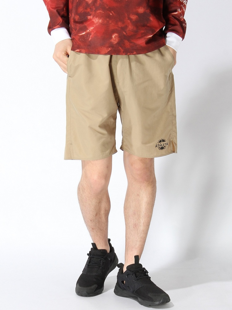 ATHLETA ATHLETA classico Treino Pocket Shorts アスレタ スポーツ/水着 スポーツウェア ベージュ ブラック カーキ ネイビー ブルー【送料無料】