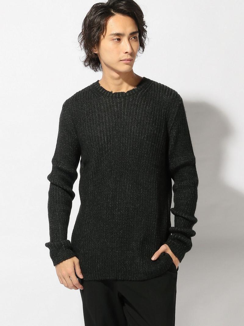 SISLEY (M)ミドルゲージリブ編みニット・セーター シスレー ニット【送料無料】