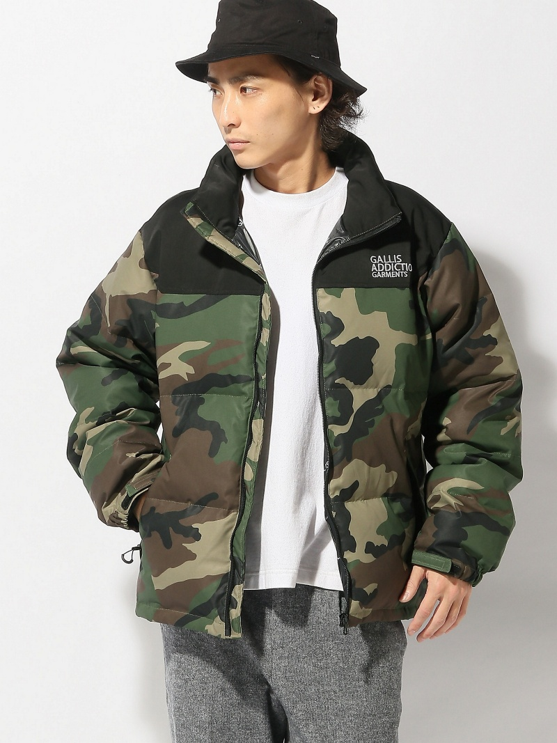 【SALE/30%OFF】GALLISADDICTION GALLISADDICTION/GA STAND DOWN JACKET ジャックローズ コート/ジャケット【RBA_S】【RBA_E】【送料無料】