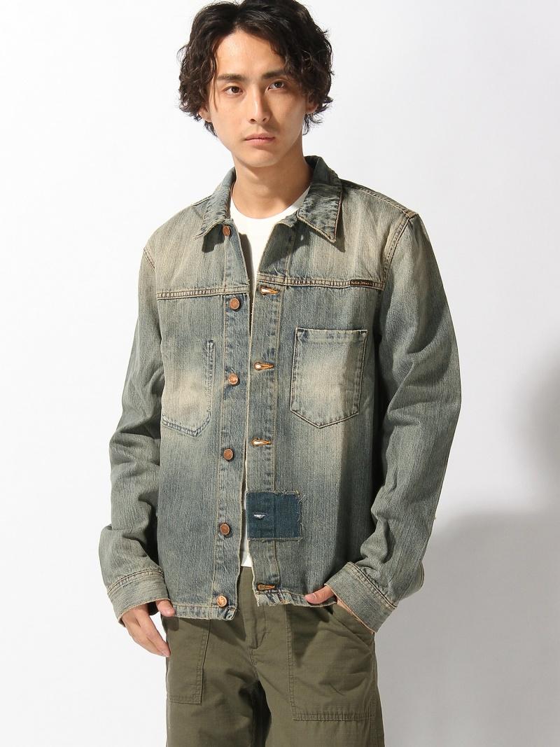 【SALE/50%OFF】nudie jeans nudie jeans/(M)Ronny ヌーディージーンズ / フランクリンアンドマーシャル シャツ/ブラウス【RBA_S】【RBA_E】【送料無料】