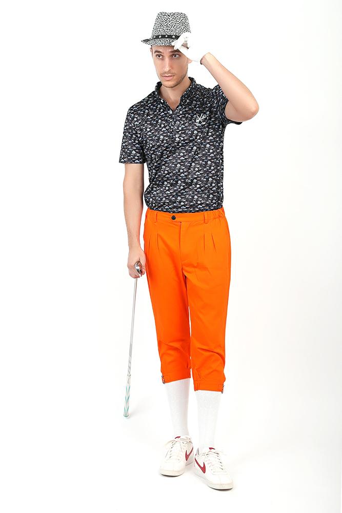 エクセランゴルフ Excellent Golf 2019ニューモデル 新入荷 通年 カラーニッカボッカー 英国 ゴルフウェア メンズ【送料無料】