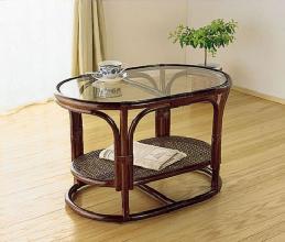リビングテーブル高級ラタンリビングテーブル