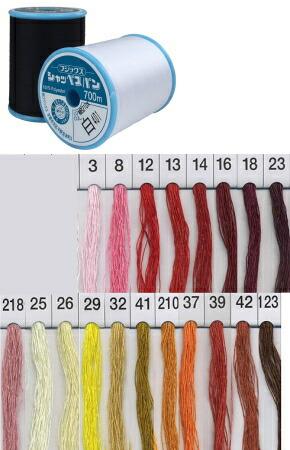 ミシン糸の定番 推奨 フジックスシャッペスパンミシン糸 普通地用大巻き 内祝い 60番 700m巻 ばつぐんの縫いやすさを備えた糸 強さと美しさ ポリエステル100% FUJIX