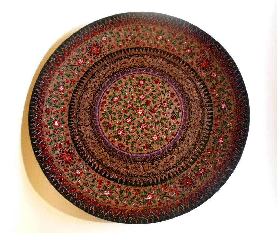 漆工芸 大皿