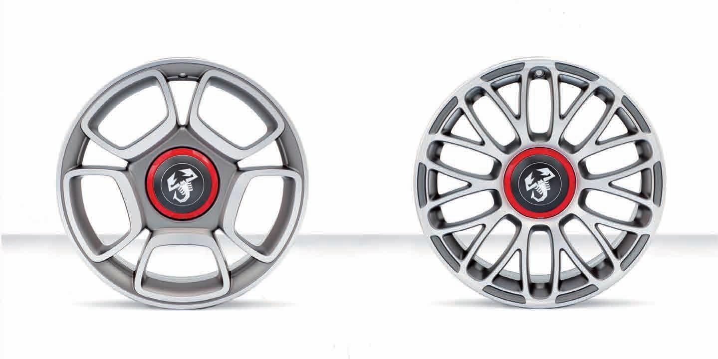 succes   Rakuten Global Market: Abarth 500 genuine 17 inch wheels 4