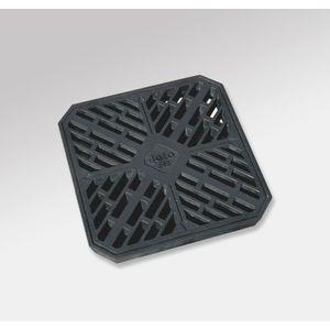 会所桝ふたの破損の取替えに 会所マス用樹脂製格子ふた 300サイズJK-300 城東テクノ
