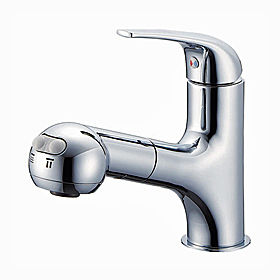 洗面台用水栓金具 シングルスプレー混合栓(洗髪用) K3703JV-13 「U-MIX」 三栄水栓【送料無料】 02P01Mar1