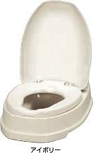 簡易設置トイレ アロン化成 安寿 サニタリエースOD両用式(アイボリー)533-303【送料無料】 02P01Mar15