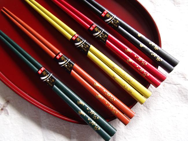 輪島箸さくらうさぎ1膳バラ