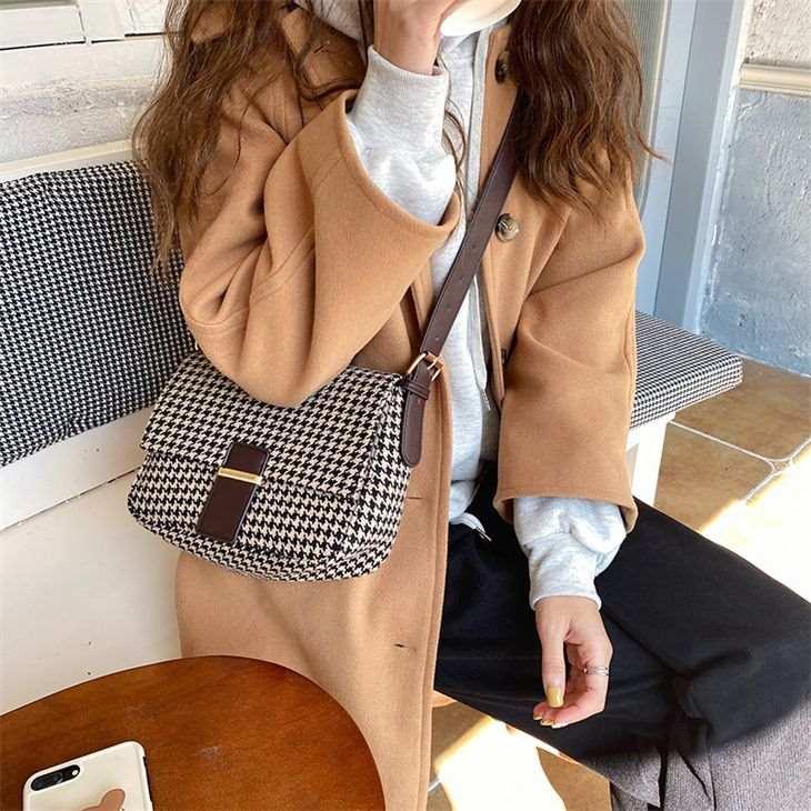 フラップバッグ ショルダーバッグ 好評 カジュアル ギンガムチェック 可愛い トレンド おしゃれ 韓国ファッション 予約販売:15-20日 ali-g8331 宅別 並行輸入品