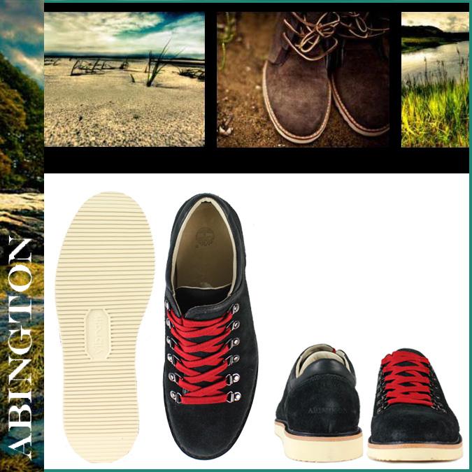 """[卖出] 阿宾阿宾天伯伦徒步旅行靴 [高山牛""""黑皮革男式鞋工作靴皮革黑的徒步旅行者 #80587"""