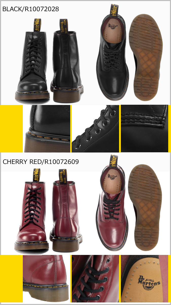 Dr. Martens Dr.Martens 1460 8 hole boots 10072028 10072609 BROKEN IN ミルドスムース leather mens Womens 8 EYE BOOTS