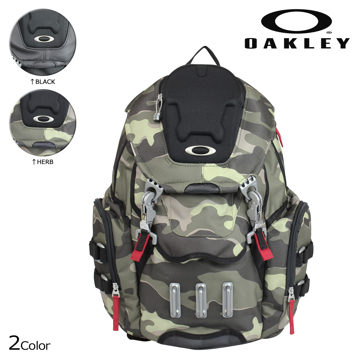 Oakley Oakley mens Backpack Rucksack 92356 BATHROOM SINK [9/14 new in stock]