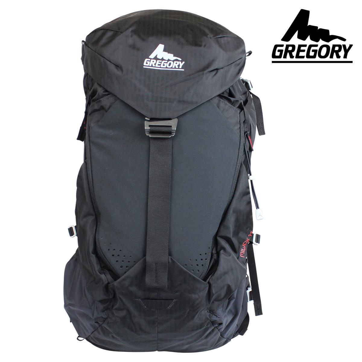 Sugar Online Shop  Gregory GREGORY mens ladies rucksack backpack 44L black  MIWOK 44  10 27 new in stock   caf2460615d