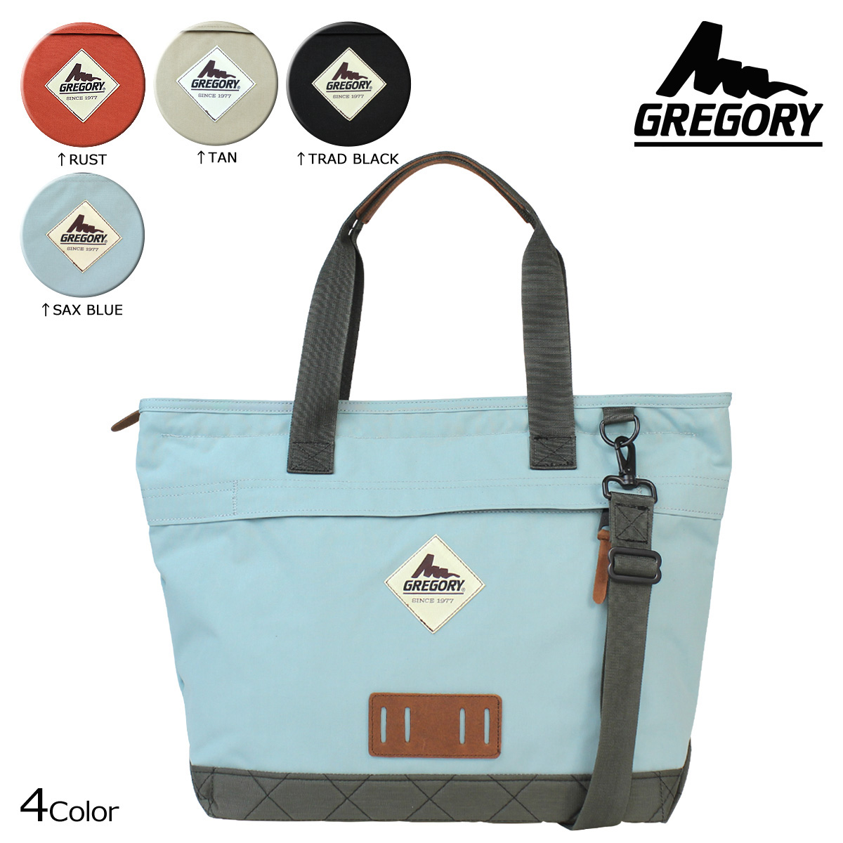 35b28b35ea «Pre-order items» «10 14 days will be in stock» Gregory GREGORY mens ladies tote  bag 2 WAY 16 4 color SUNRISE TOTE  10 14 new in stock
