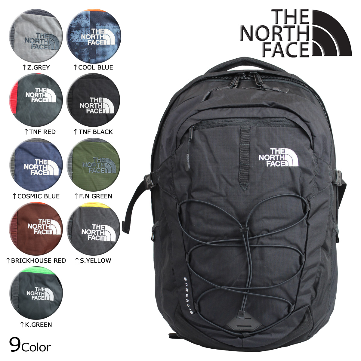 f61f51a0f North Face Borealis Backpack Grey And Blue - CEAGESP