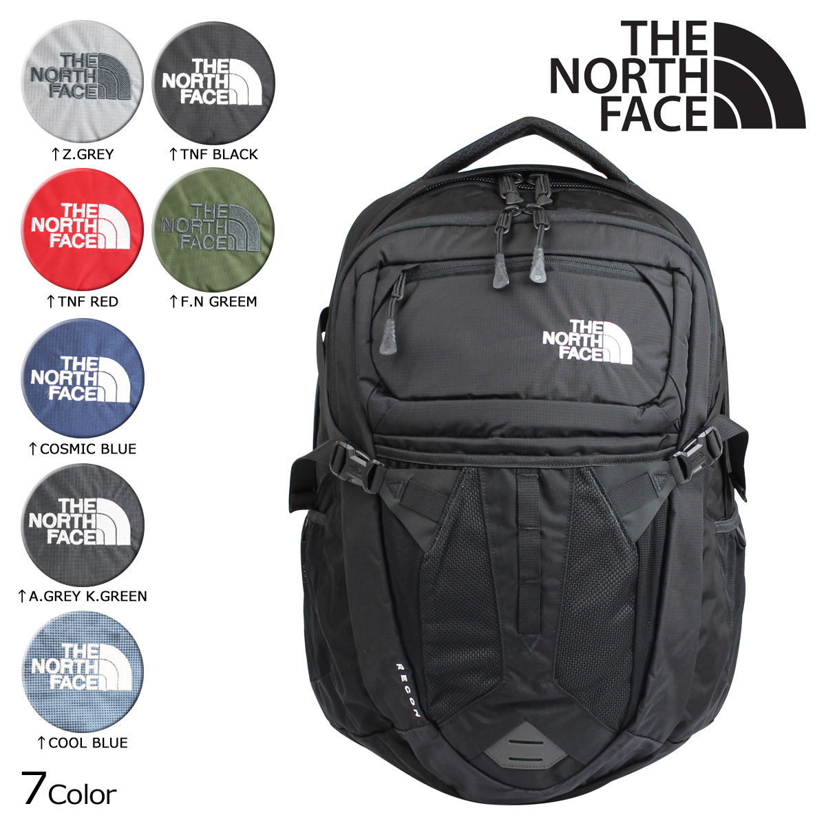 d0e4e999f North Face THE NORTH FACE rucksack backpack RECON BACKPACK 31L men's Lady's