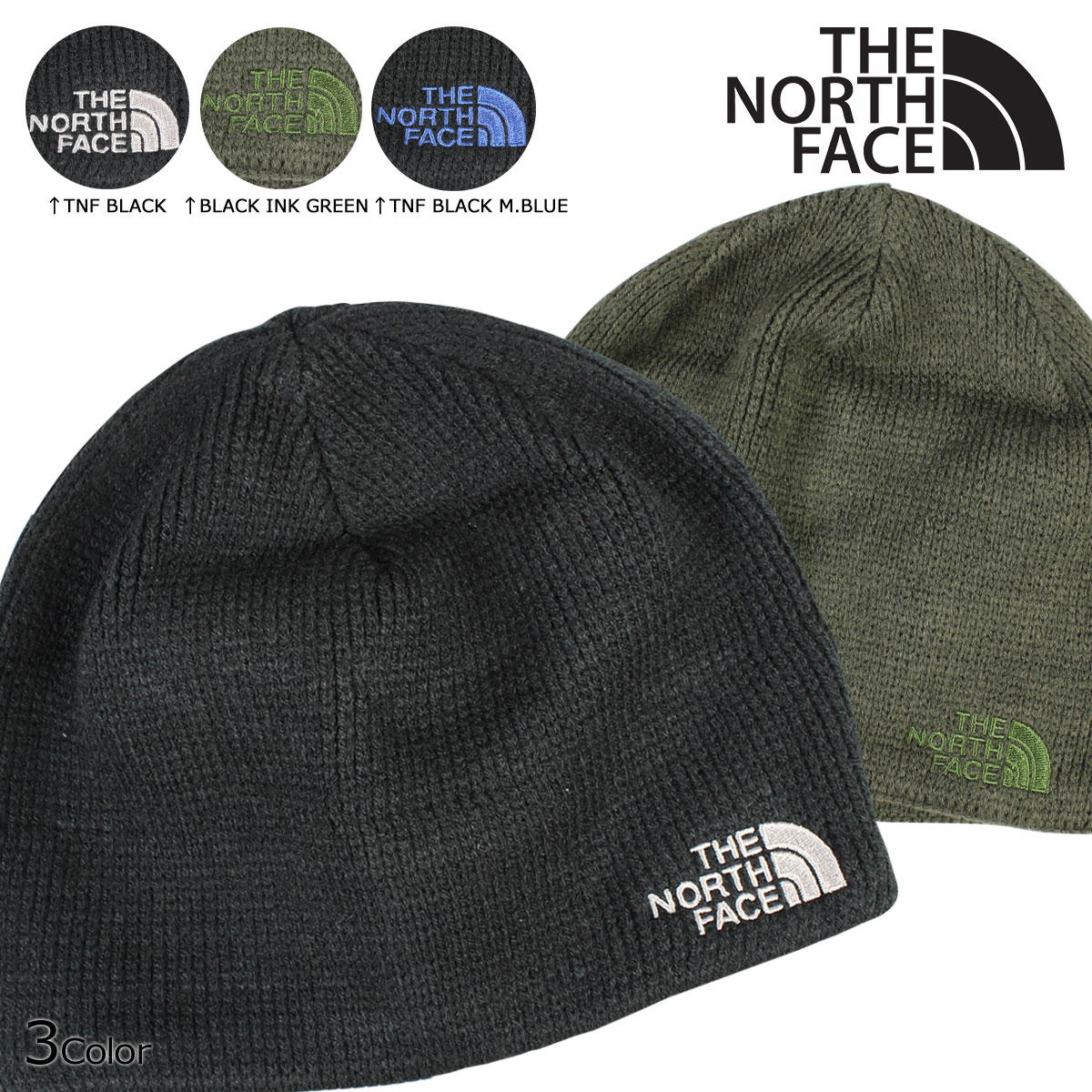 2b82a1d3bee53 Sugar Online Shop   laquo Soon raquo   laquo 10 7 days stock raquo  north  face THE NORTH FACE men s women s knit hat Beanie knit Cap AHHZ 3 color  BONES ...