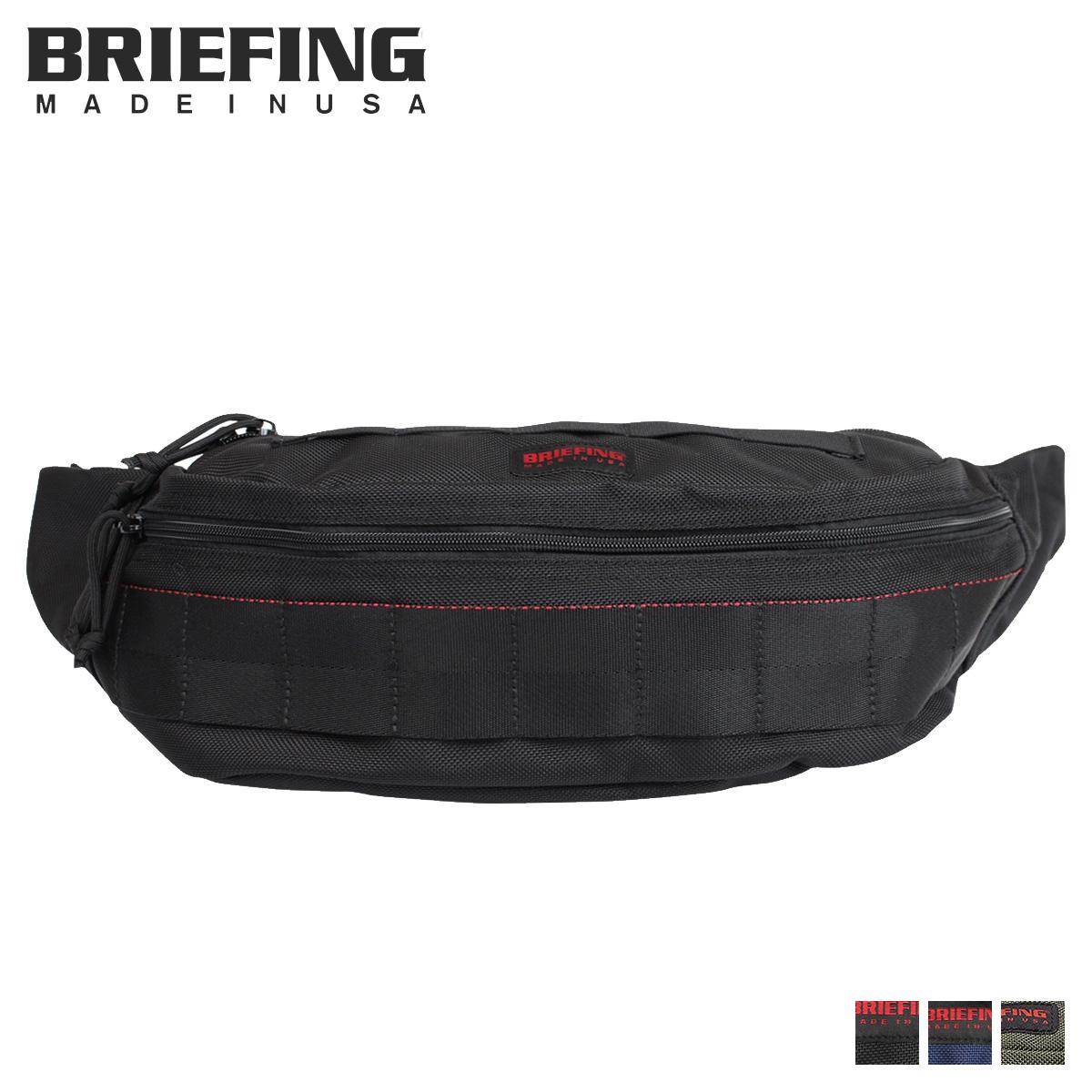 BRIEFING ブリーフィング ボディバッグ ウエストバッグ メンズ MASTER POD ブラック 黒 ネイビー BRF225219