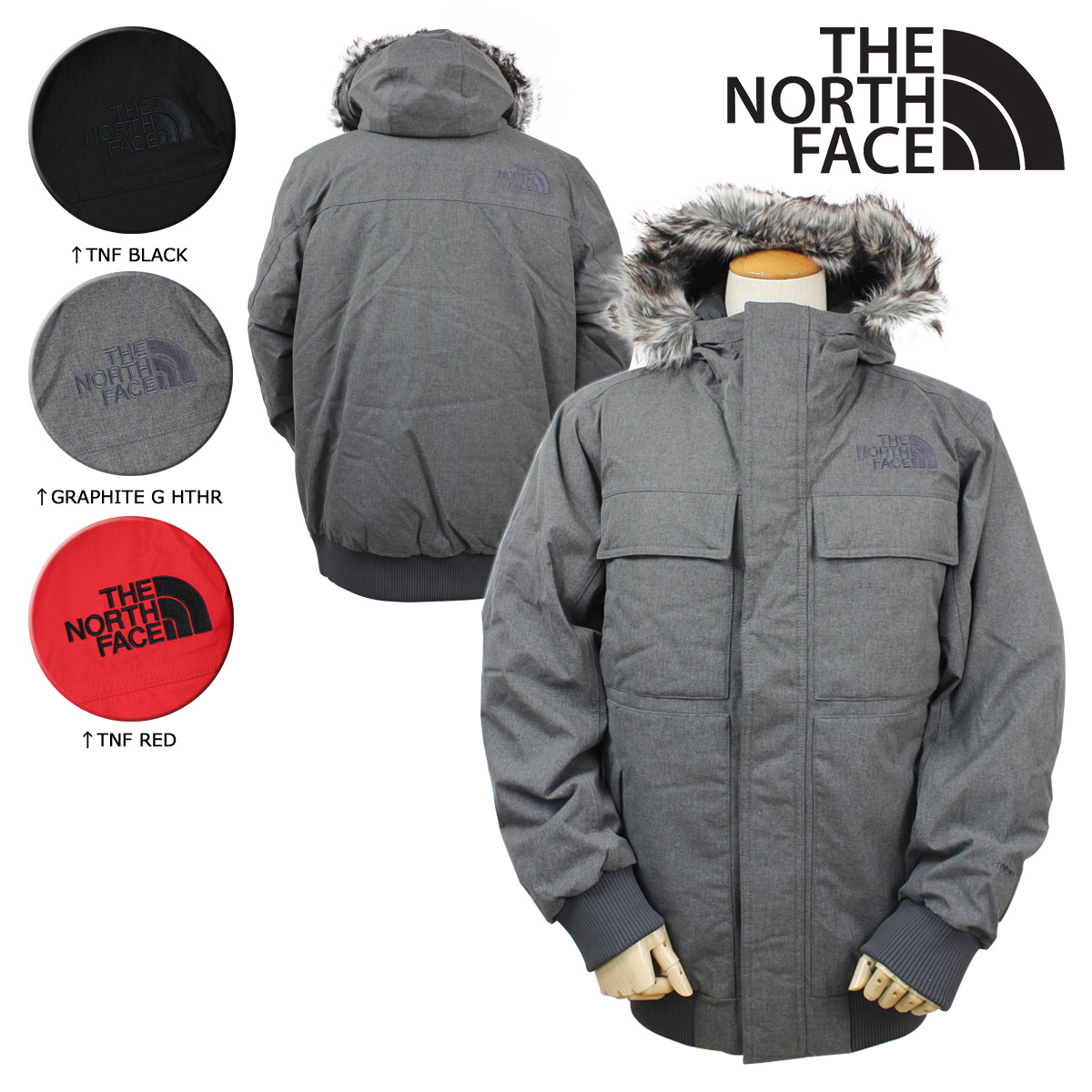 Sugar Online Shop  North face THE NORTH FACE mens Jacket Mountain parka  CYK7 3 color MEN s GOTHAM JACKET 2  11   6 new in stock   a5f343733