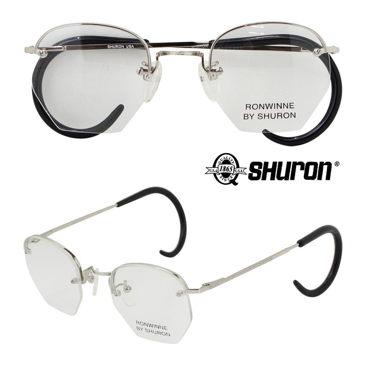 SHURON シュロン メガネ 眼鏡 アメリカ製 メンズ レディース
