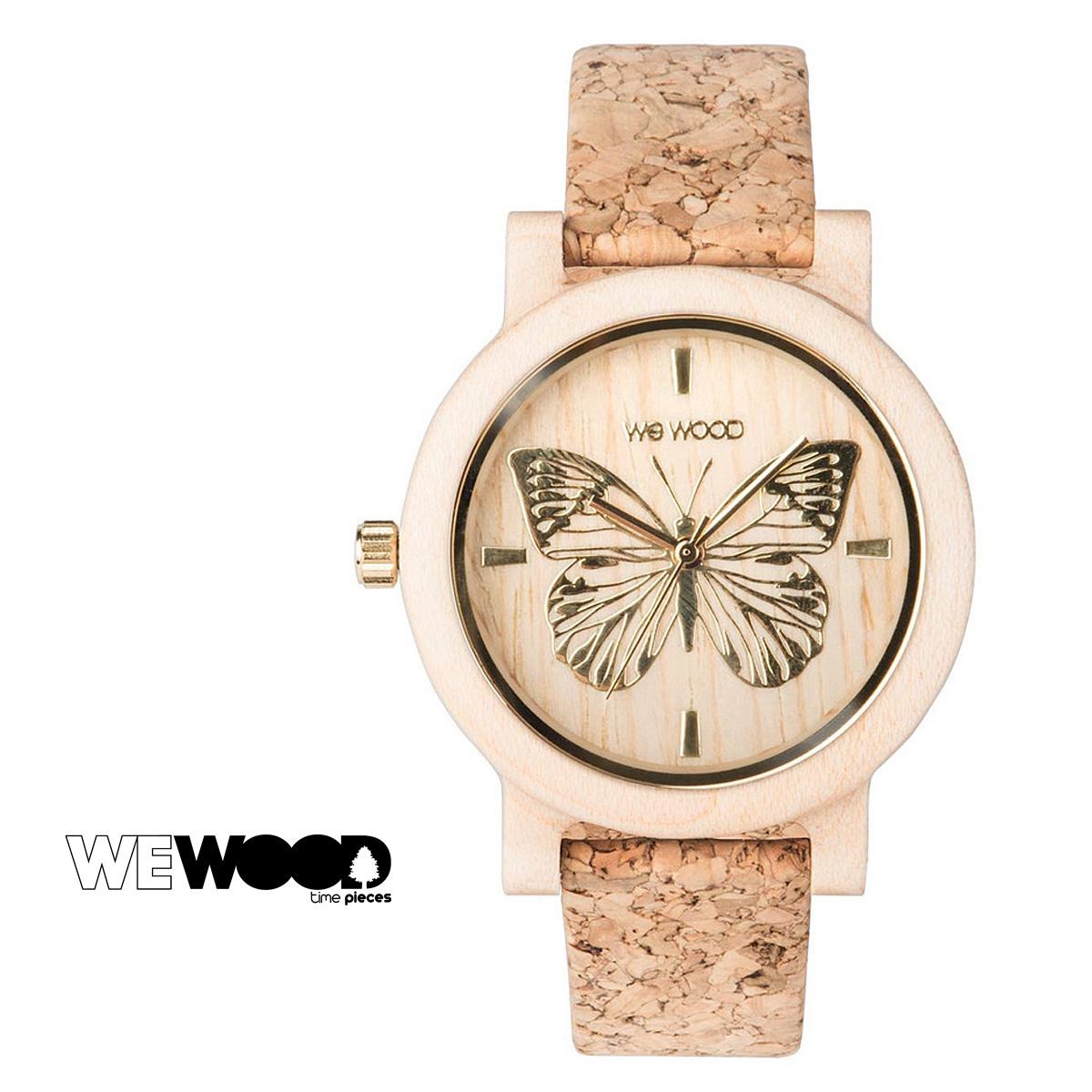 ウィーウッド WEWOOD 腕時計 PAPILIO ベージュ BEIGE レディース