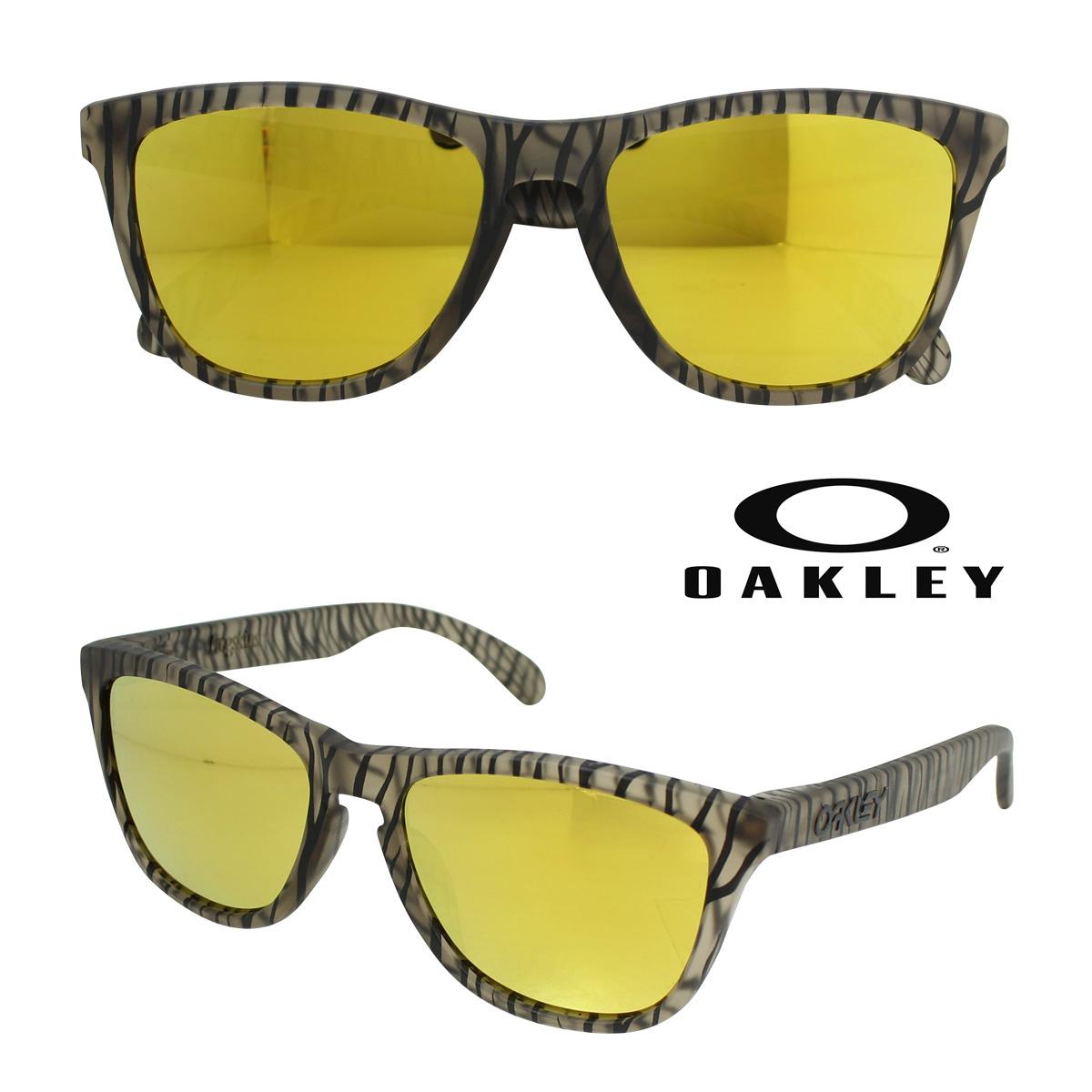 オークリー Oakley サングラス Frogskins Asian Fit フロッグスキン アジアンフィット OO9245-24 マットセピア メンズ レディース