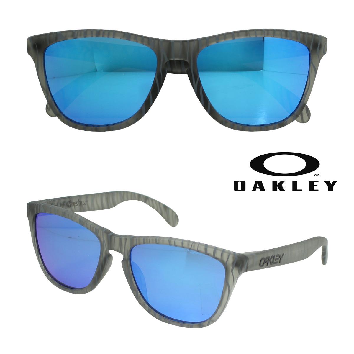 オークリー Oakley サングラス Frogskins Asian Fit フロッグスキン アジアンフィット OO9245-25 マットグレー メンズ レディース