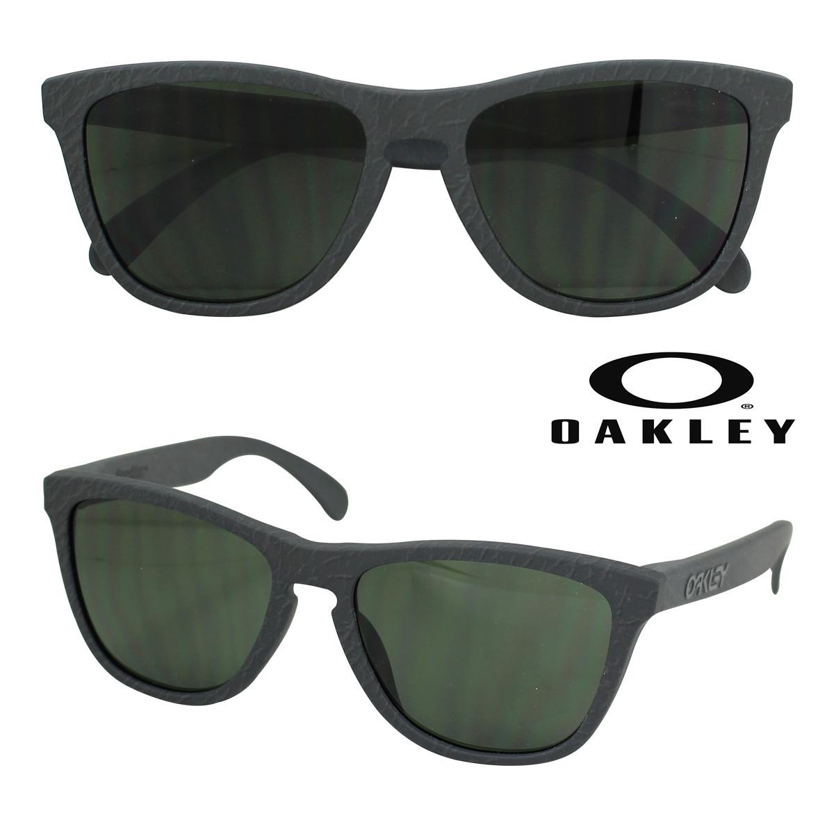 オークリー Oakley サングラス Frogskins Asian Fit フロッグスキン アジアンフィット OO9245-28 ガンパウダー ダーク グレー メンズ レディース