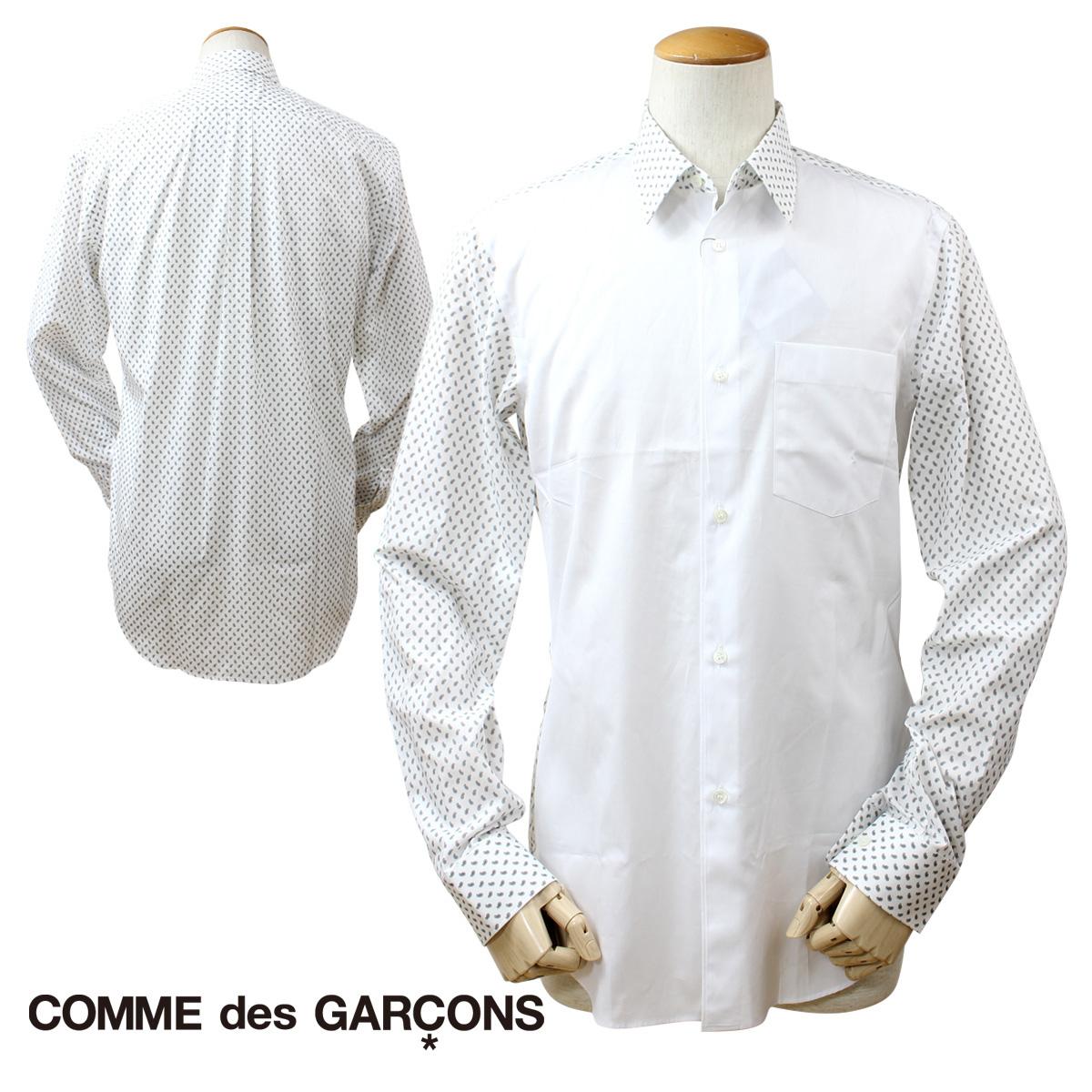 コムデギャルソン HOMME DEUX COMME des GARCONS シャツ 長袖 ホワイト メンズ