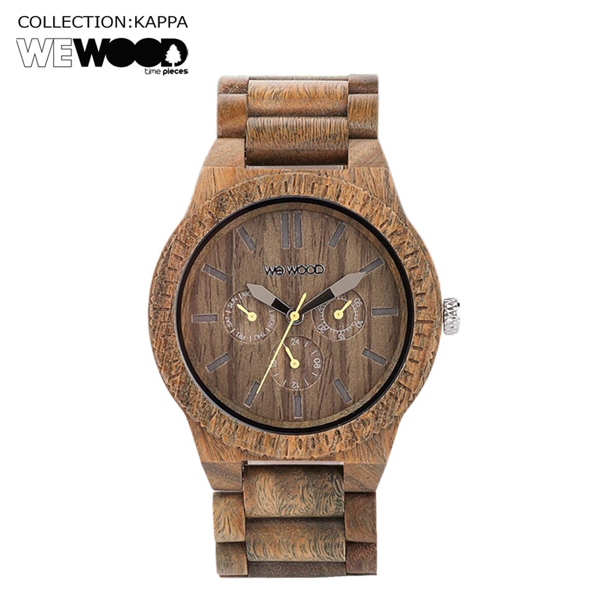 ウィーウッド WEWOOD 腕時計 KAPPA アーミー ARMY NATURAL WOOD メンズ レディース
