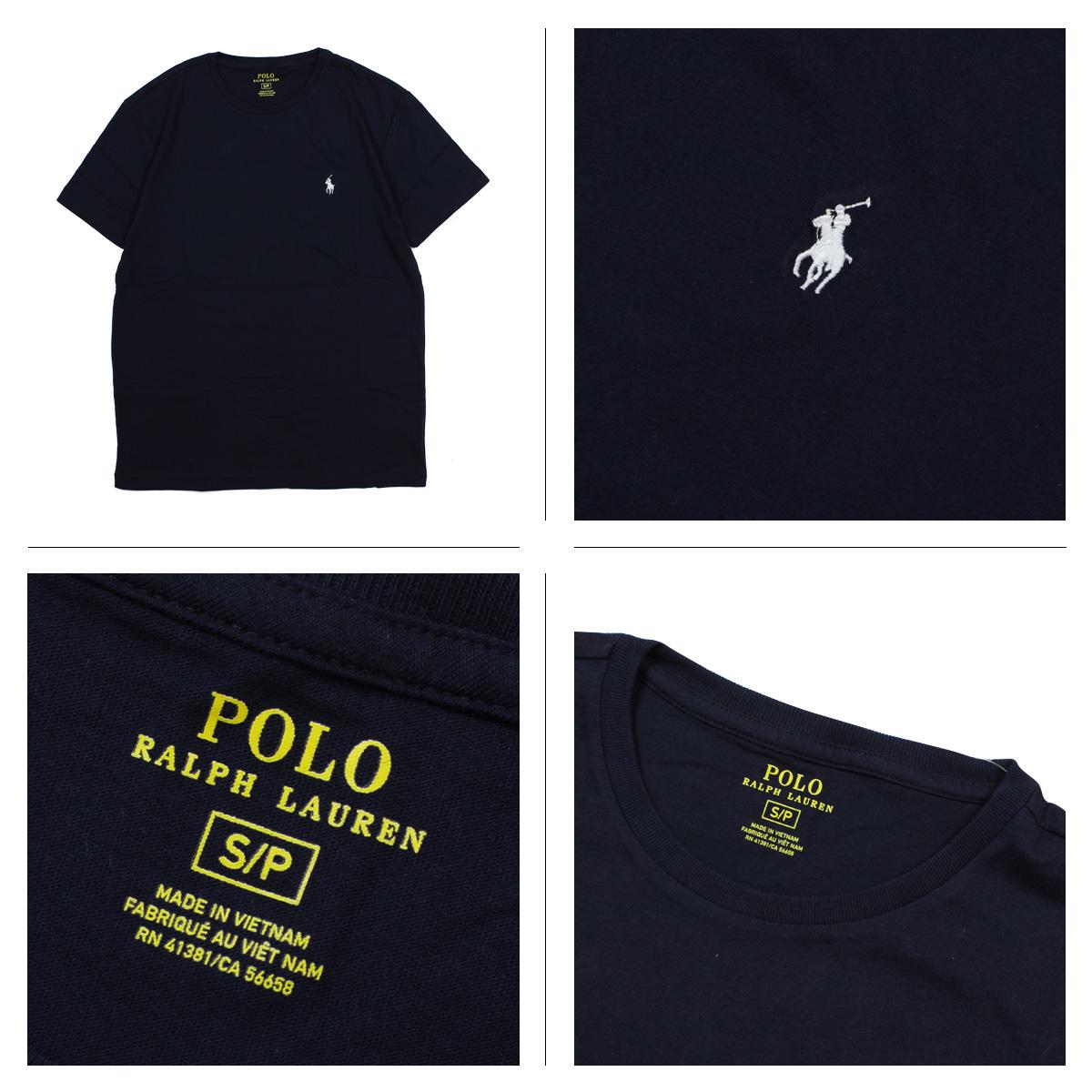 POLO RALPH LAUREN Polo Ralph Lauren T shirt short sleeve U neck men's  women's