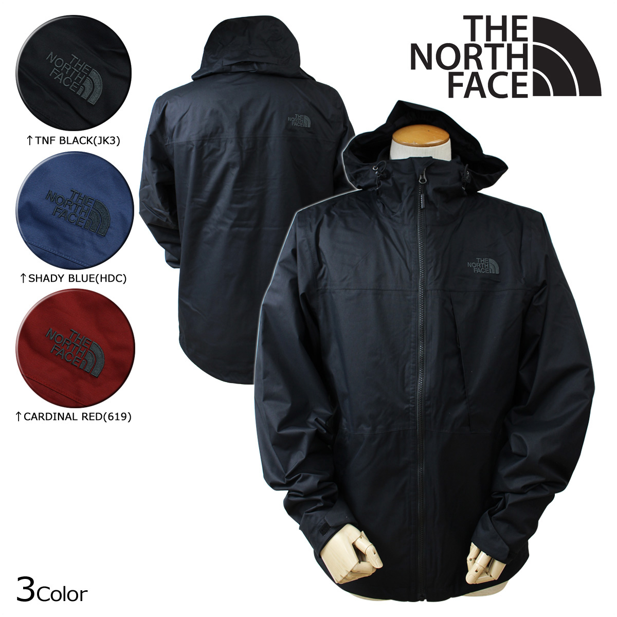 THE NORTH FACE ノースフェイス ジャケット シェルジャケット フリース MEN'S ARROWOOD TRICLIMATE JACKET NF0A2TCN メンズ 【CLEARANCE】