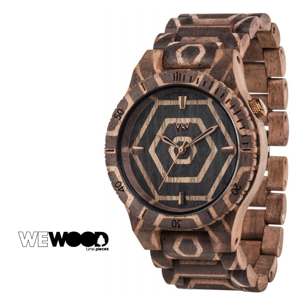 ウィーウッド WEWOOD 腕時計 ALPHA BEHIVE NUT メンズ レディース